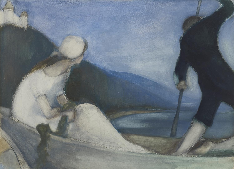Kohtauspaikkana Kangasala -näyttely Kimmo Pyykkö -taidemuseossa.