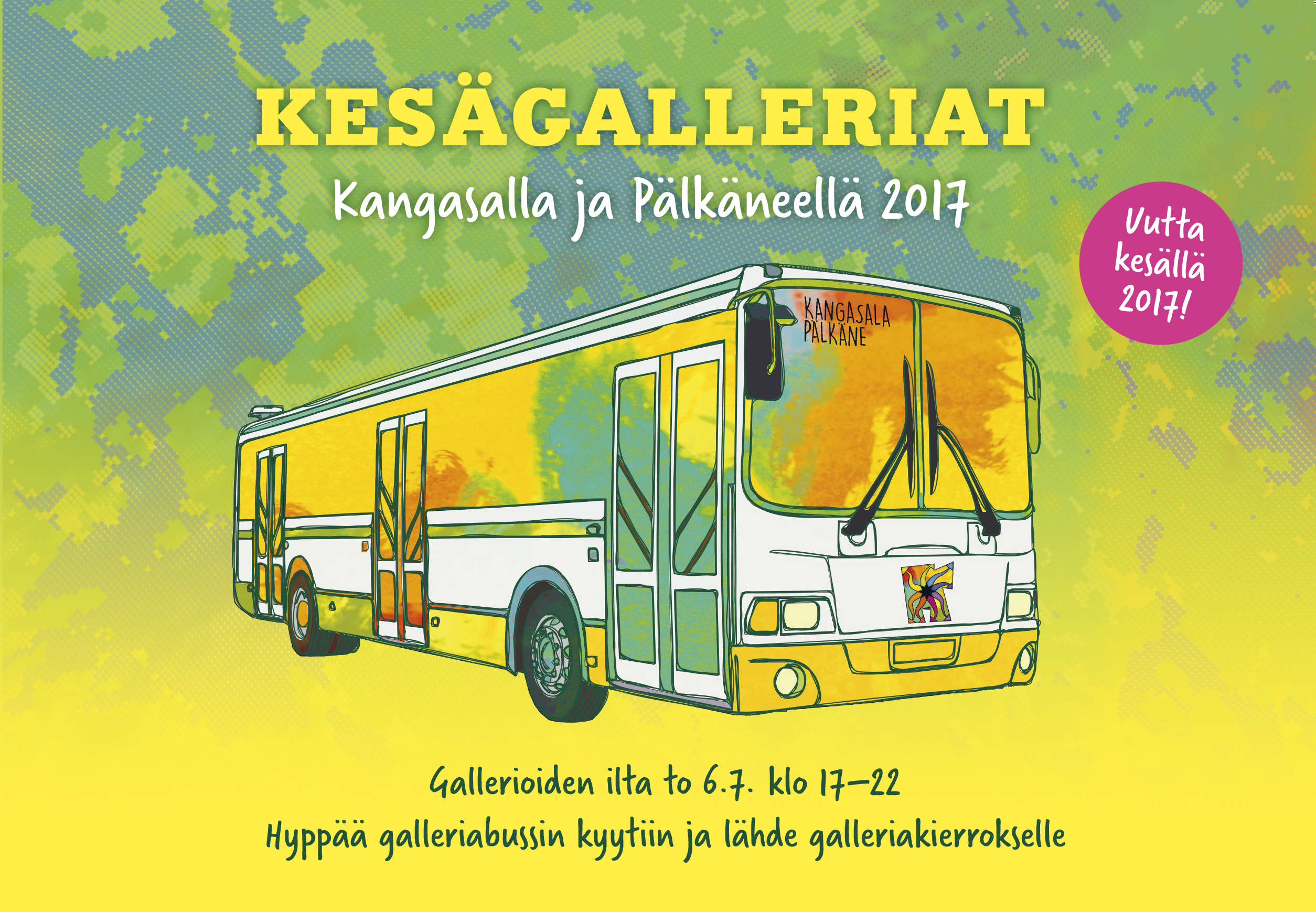 Kangasala-talon galleria osallistuu Gallerioiden iltaan.