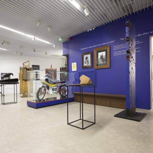 Kimmo Pyykkö, Pitkän matkan ateljee -näyttely Kimmo Pyykkö -taidemuseossa
