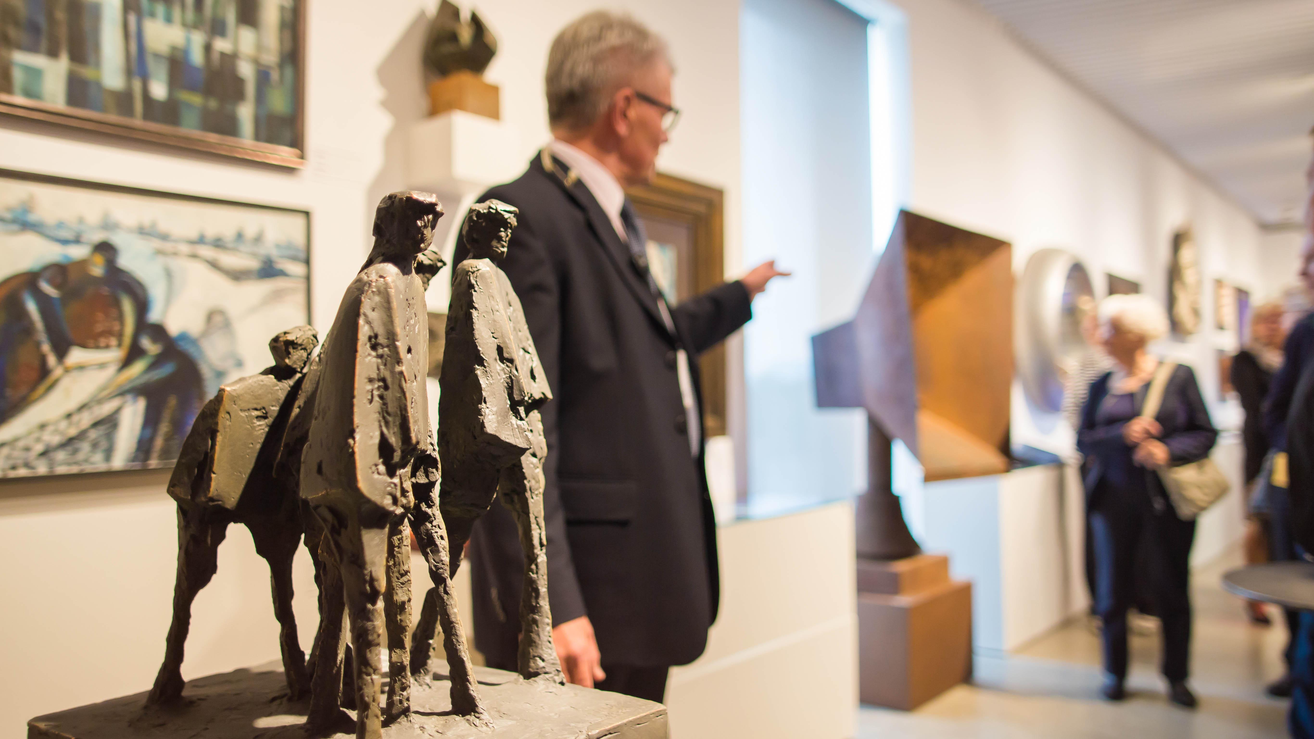 Senioripäivä Kimmo Pyykkö -taidemuseossa.