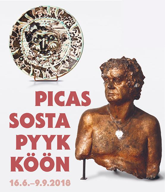 Picassosta Pyykköön Kimmp Pyykkö -taidemuseossa.