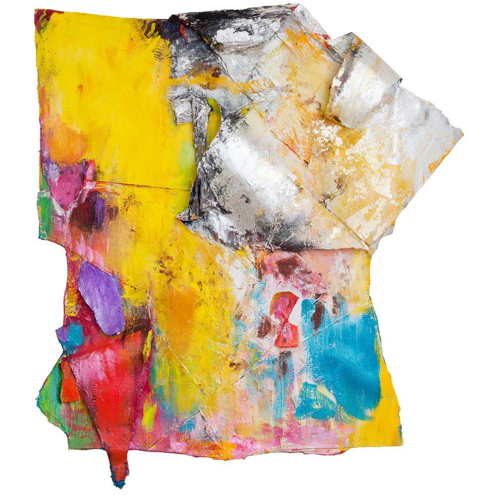 Taidemaalari Raili Tangin teos All Around My Hat vuodelta 2015 oli esillä Kimmo Pyykkö -taidemuseon näyttelyssä.
