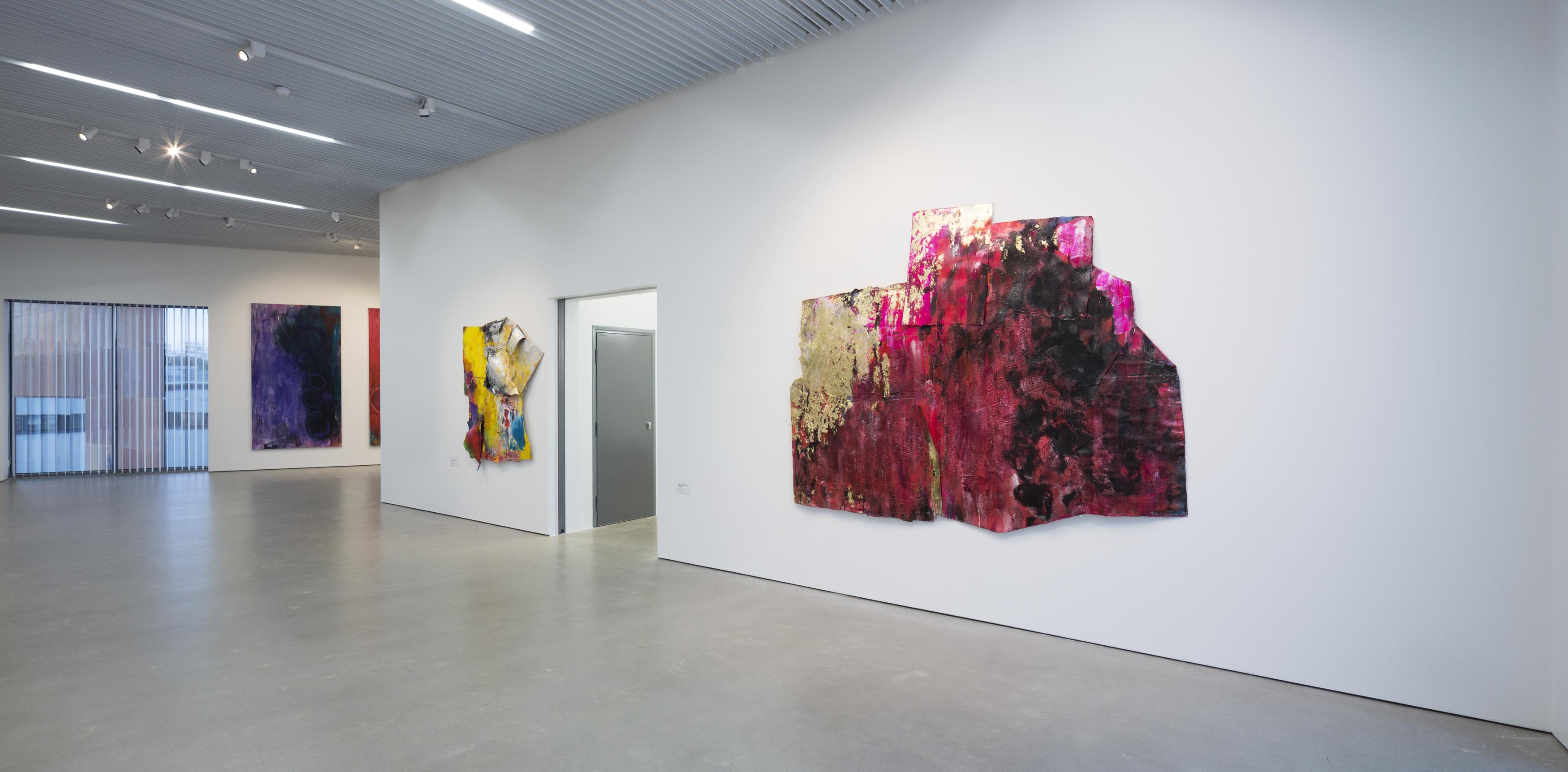 Taidemaalari Raili Tangin näyttely Ilolla ja intohimolla Kimmo Pyykkö -taidemuseossa Kangasalla.