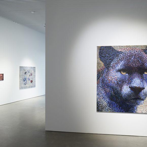 Samuli Heimosen näyttely Monesta yksi Kimmo Pyykkö -taidemuseossa.