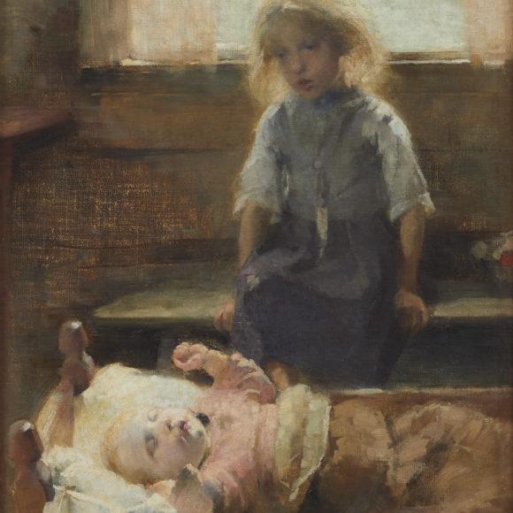 Einar Ilmonin näyttelyssä Kimmo Pyykkö -taidemuseossa on nähtävillä myös muutama Helene Schjerfbeckin teos.