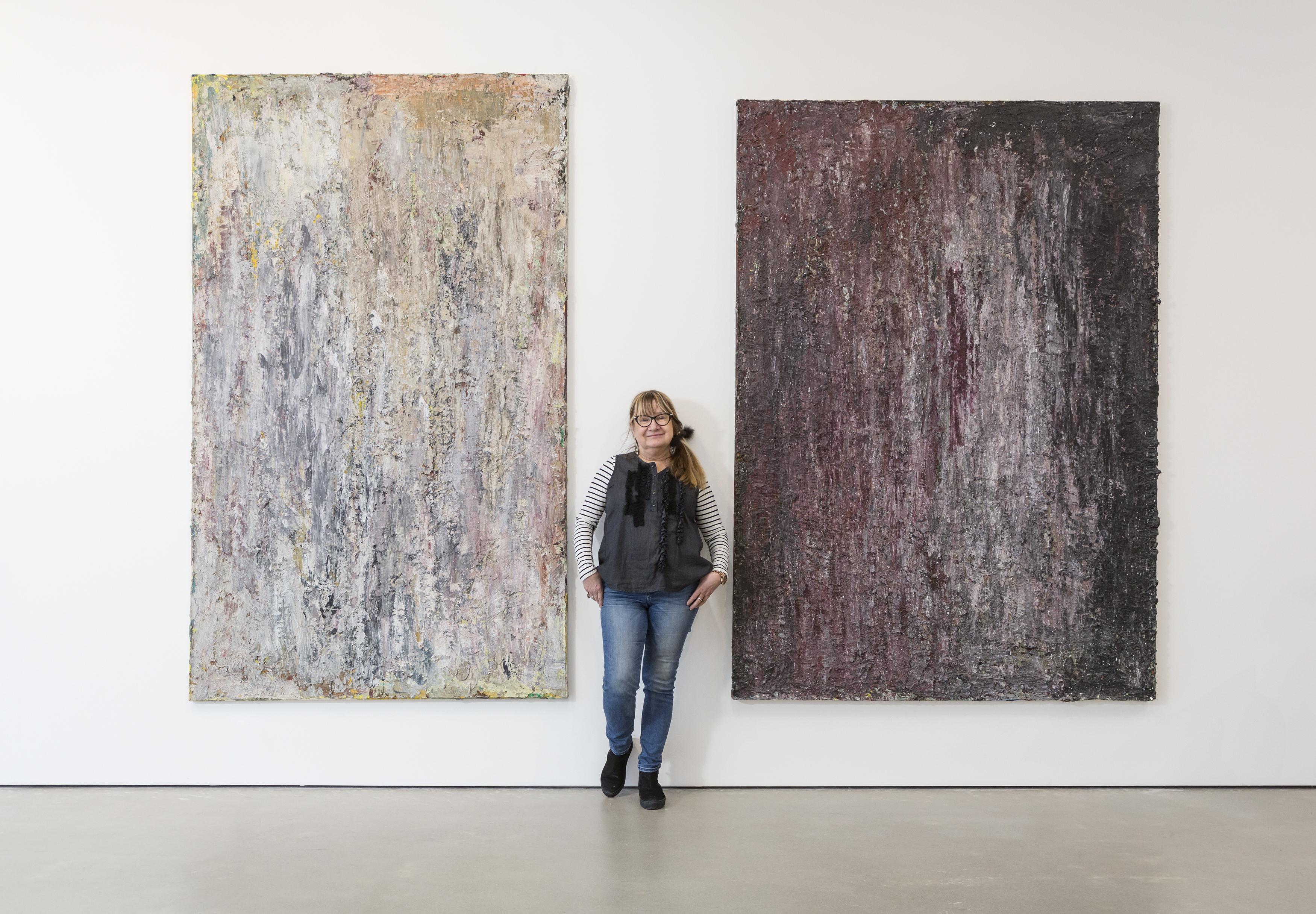 Raili Tangin näyttely Ilolla ja intohimolla nähtiin Kimmo Pyykkö -taidemuseossa vuonna 2016.