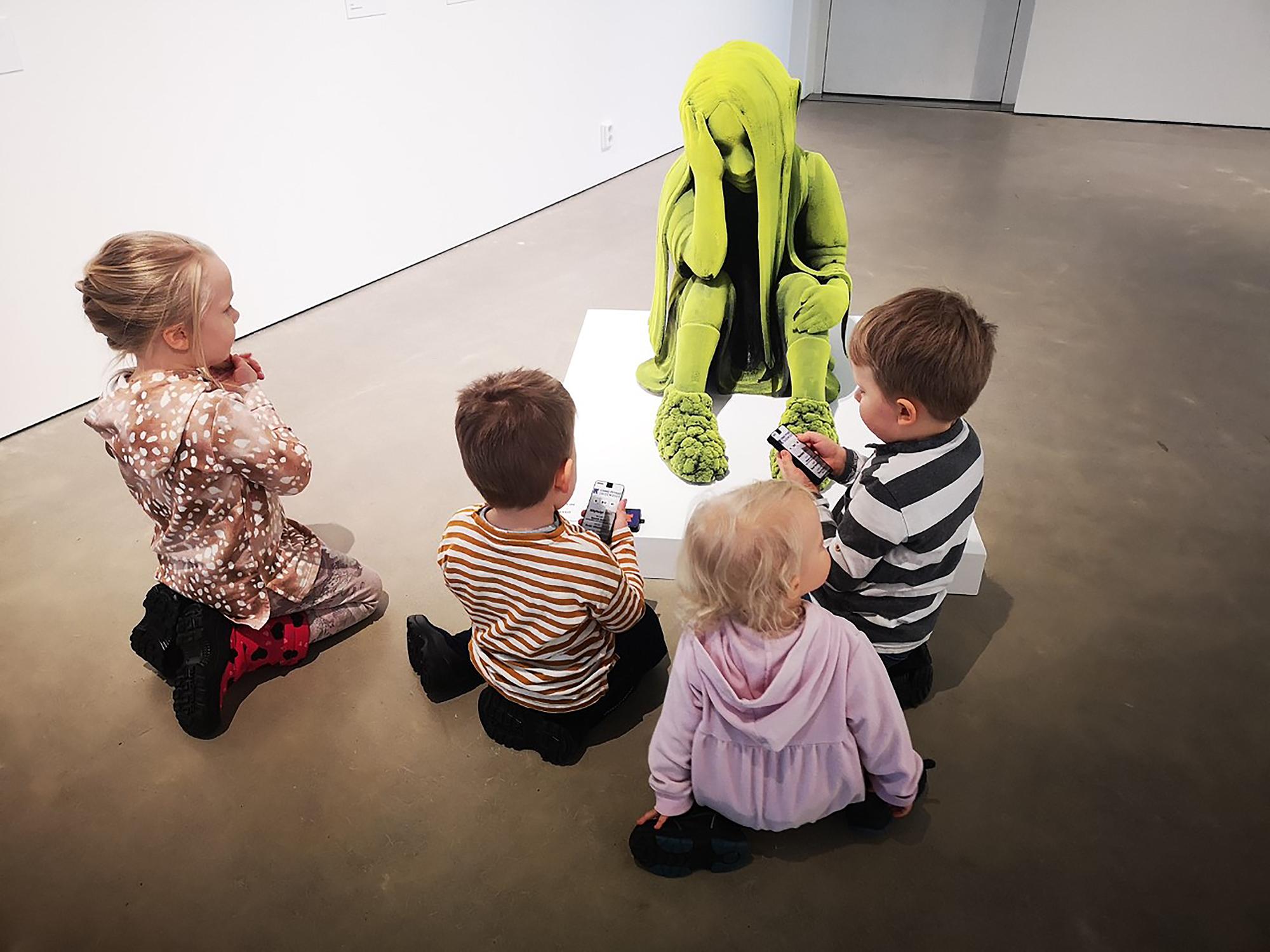 Kimmo Pyykkö -taidemuseon Lasten lauantai