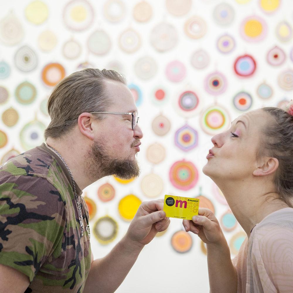 Ystävänpäivänä su 14.2.2021 Kimmo Pyykkö -taidemuseoon kaksi sisäänpääsyä yhden hinnalla!